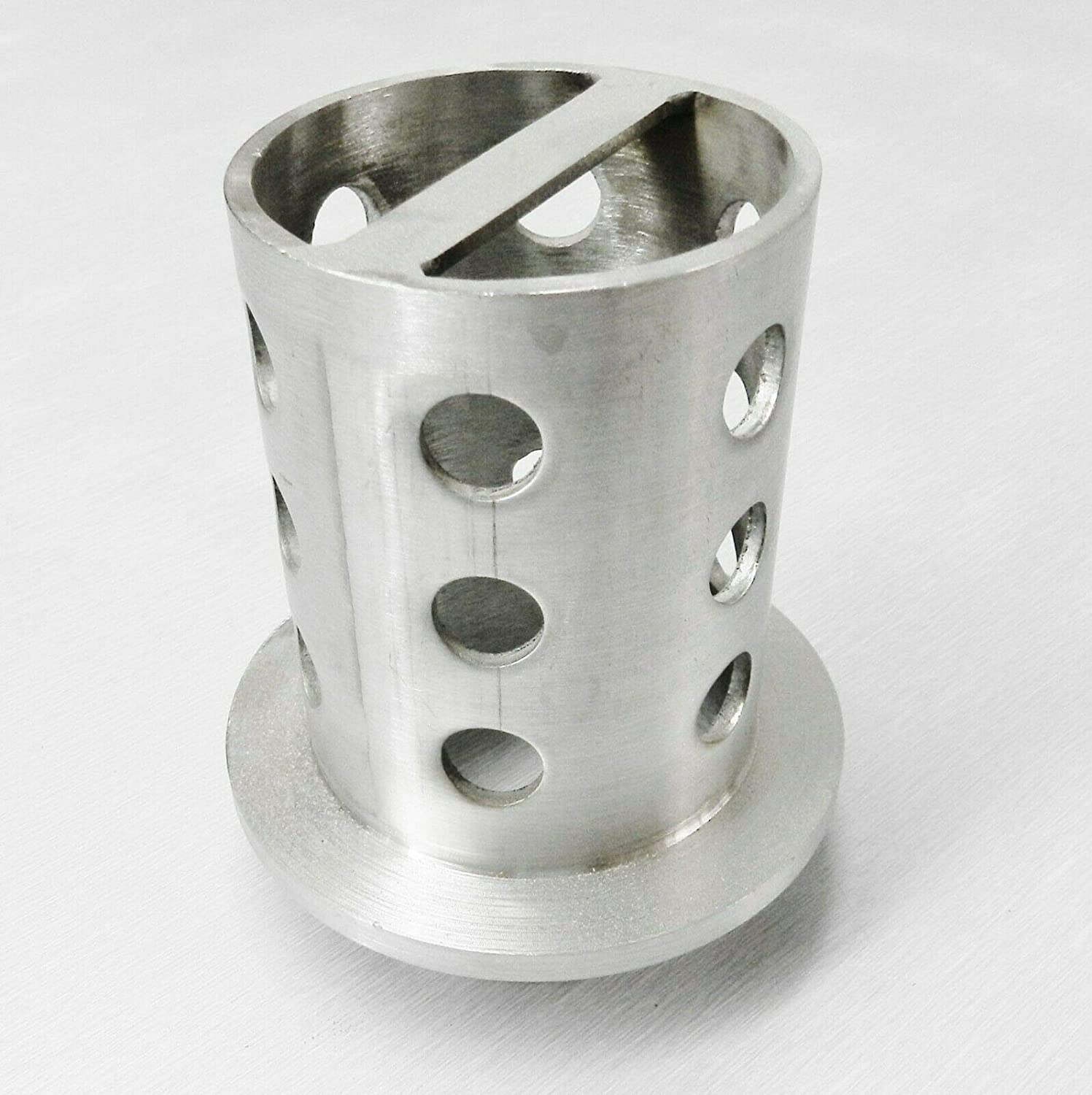 Perforated Casting Flask 2-1//2 x 4 Flask Vacuum Casting Stainless 1//8 Wall