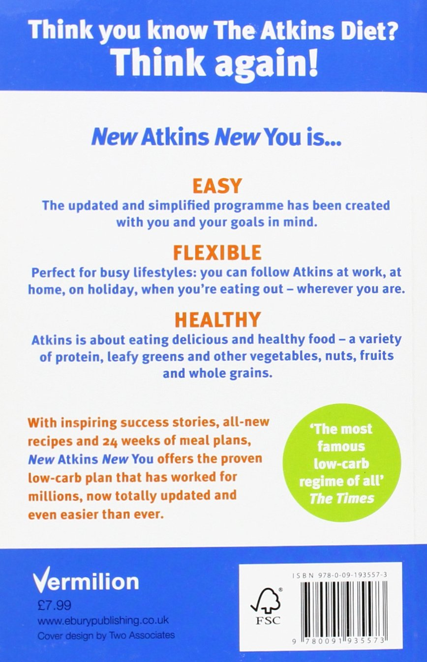 New Atkins For a New You: The Ultimate Diet for Shedding ...