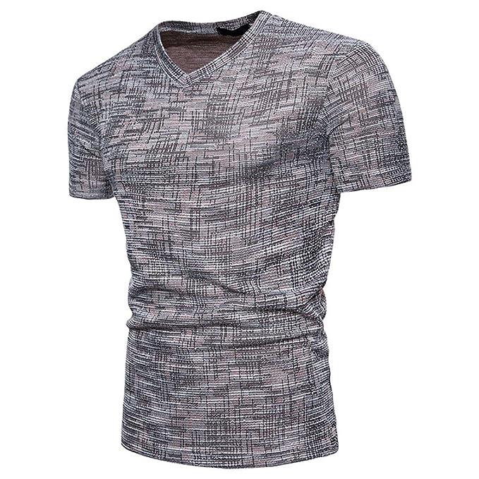 WINWINTOM Moda de Verano Camisetas, 2018 Camisetas y Polos De Hombre, Hombres Verano Casual