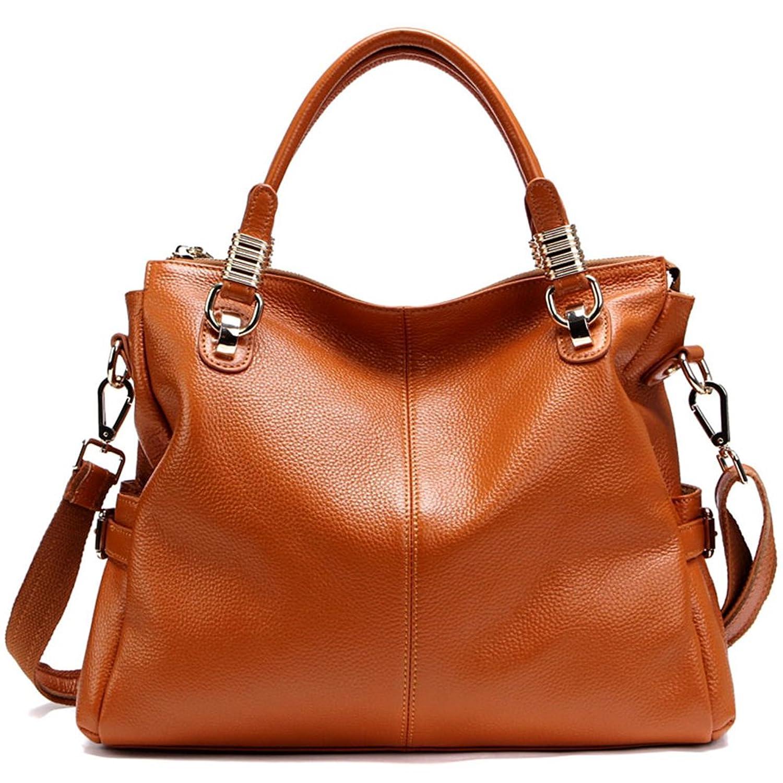 AMA Womens Fashion 1st Genuine Leather Leisure Tote Bags Shoulder Bag