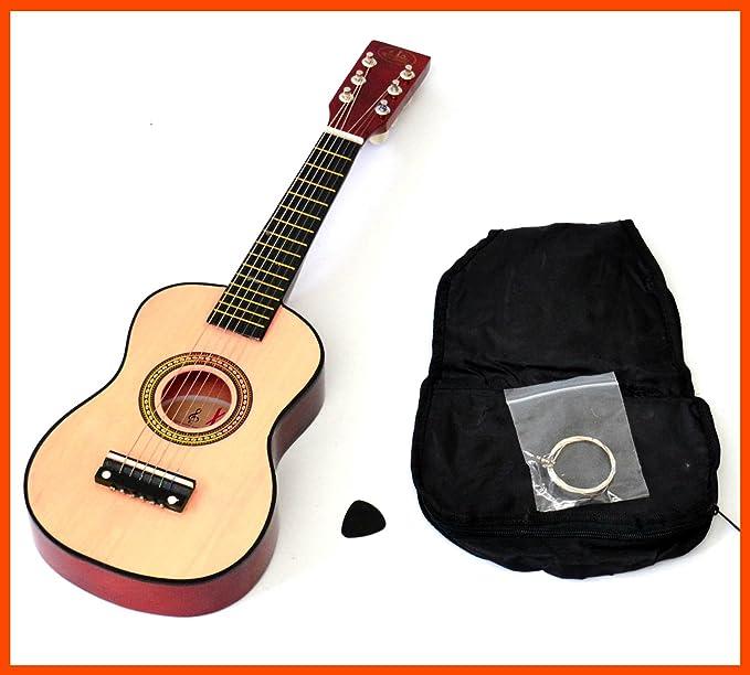 ts-ideen 5202 - Guitarra clásica, marrón: Amazon.es: Instrumentos ...