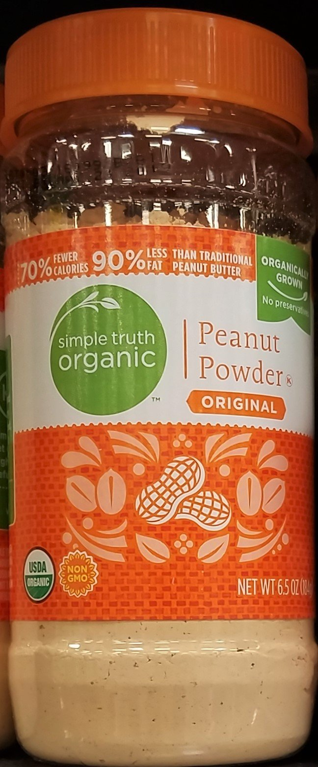 Simple Truth Organic Peanut Powder 6.5 oz (Pack of 2)