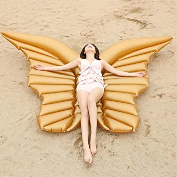 Juguetes gigantes de natación - Balsa inflable del flotador de la piscina de la mariposa -
