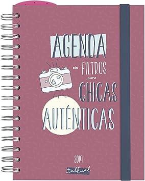 Agenda 2019 día página español: Amazon.es: Oficina y papelería