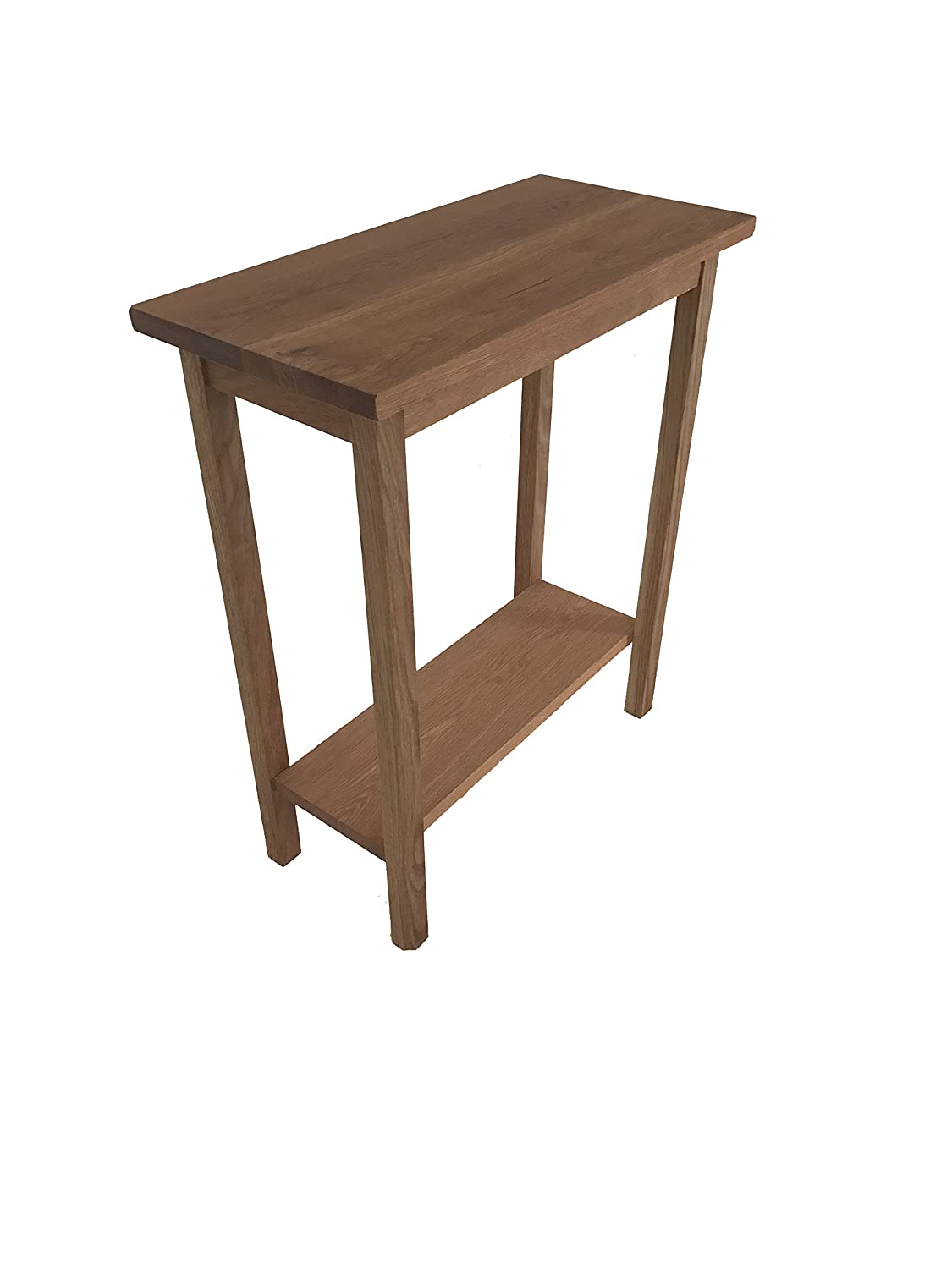competitive price bad5e abb20 solid oak console,side table. solid oak hand made in the uk ...