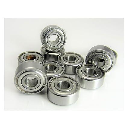 10 Fishing Reels TRB RC 5x11x4mm Precision Stainless Steel Ball Bearings