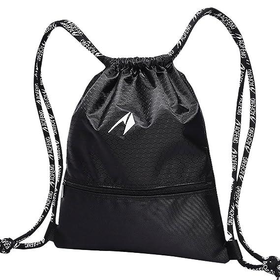 Amazon.com: aofeng Athletic bolsas, bolsas de cordón ...