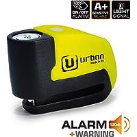 Urban Security UR6 Candado Antirrobo Disco con Alarma+Warning