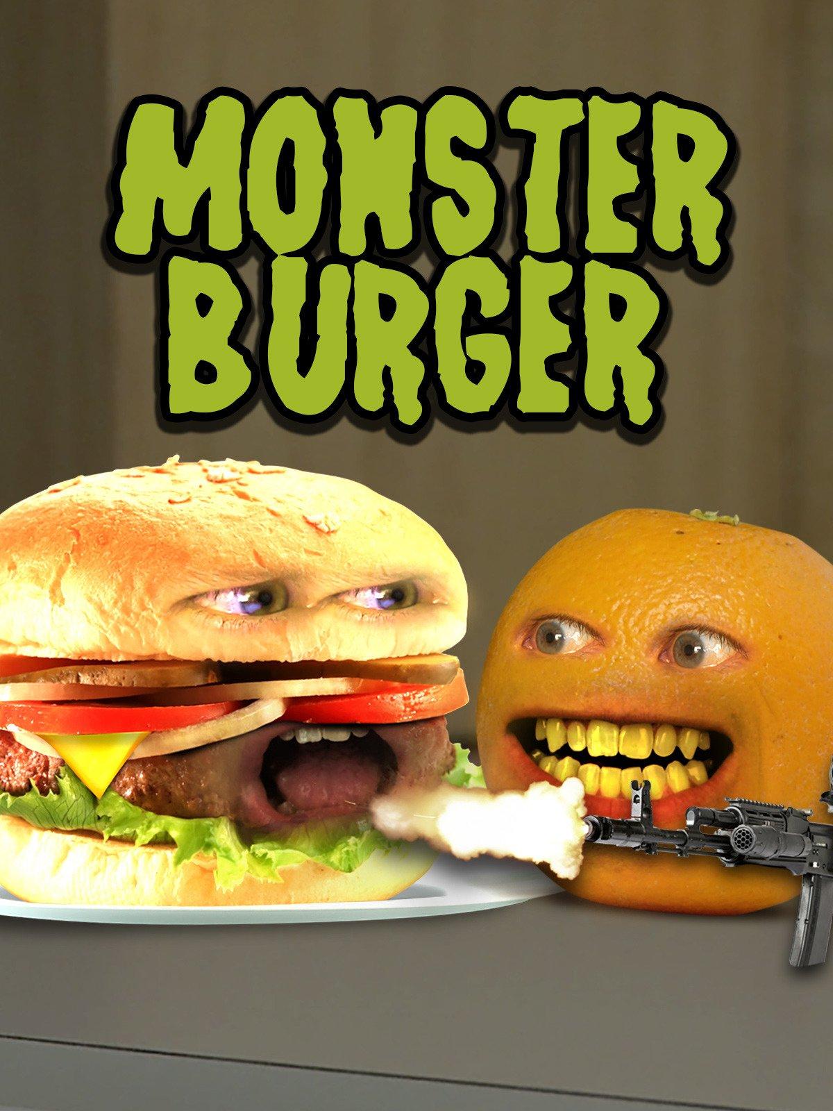 Annoying Orange - Monster Burger