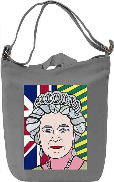 Pop Art Queen Elizabeth Leinwand Tagestasche Canvas Day Bag 100