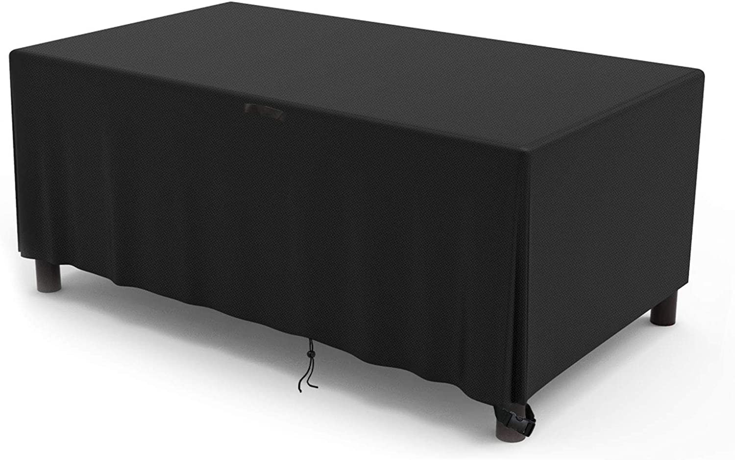 Kingling Patio Furniture Cover,Square Patio Table & Chair Set Cover,Tear-Resistant,Waterproof Outdoor Durable Furniture Cover,Black(106