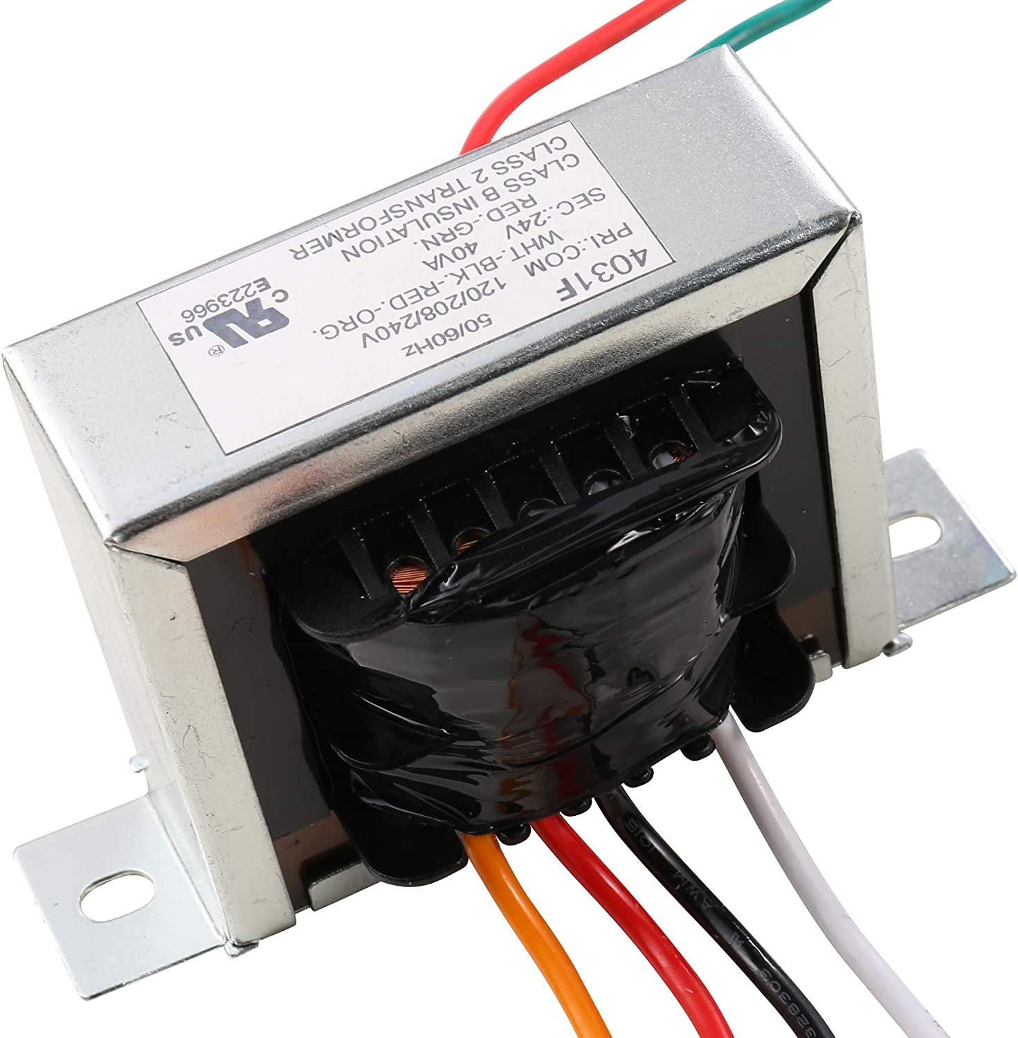 Class 2 Control Transformer Foot Mount 40va Primary Voltage 120, 208, 240v Secondary 24v Mp3 Players & Accessories
