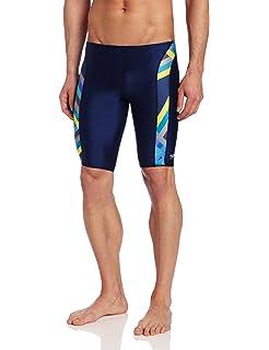 fb6daf840147f Amazon.com : Speedo Men's Pro LT Echo Jammer Swimsuit : Clothing