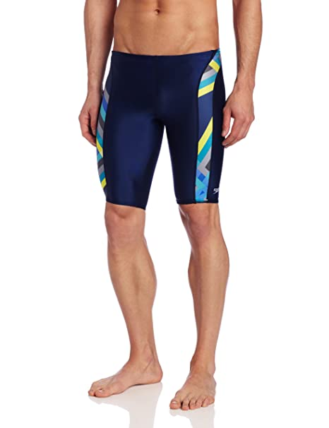 Amazon.com: Speedo - Bañador para hombre, diseño de rayas ...