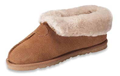 Ladies Genuine Sheepskin Slippers Fur Wool Suede Leather Home Shoes Boots Women