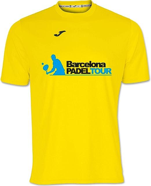Barcelona Padel Tour Camiseta Manga Corta Técnica Joma Hombre: Amazon.es: Ropa y accesorios