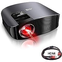 Artlii US-YG600B Full HD 1080p 3600-Lumens Home Theater Projector (Black)