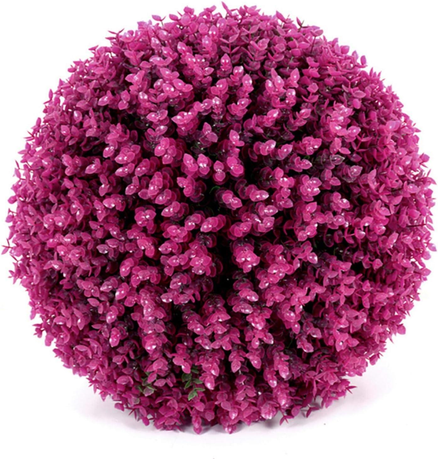 Dreameryoly Simulado Bola de Hierba Decorativa Eucalipto Artificial Bola de Hierba Planta Decorativa Bola para Centro Comercial de Bodas Navidad Decoración para el hogar Eco Friendly