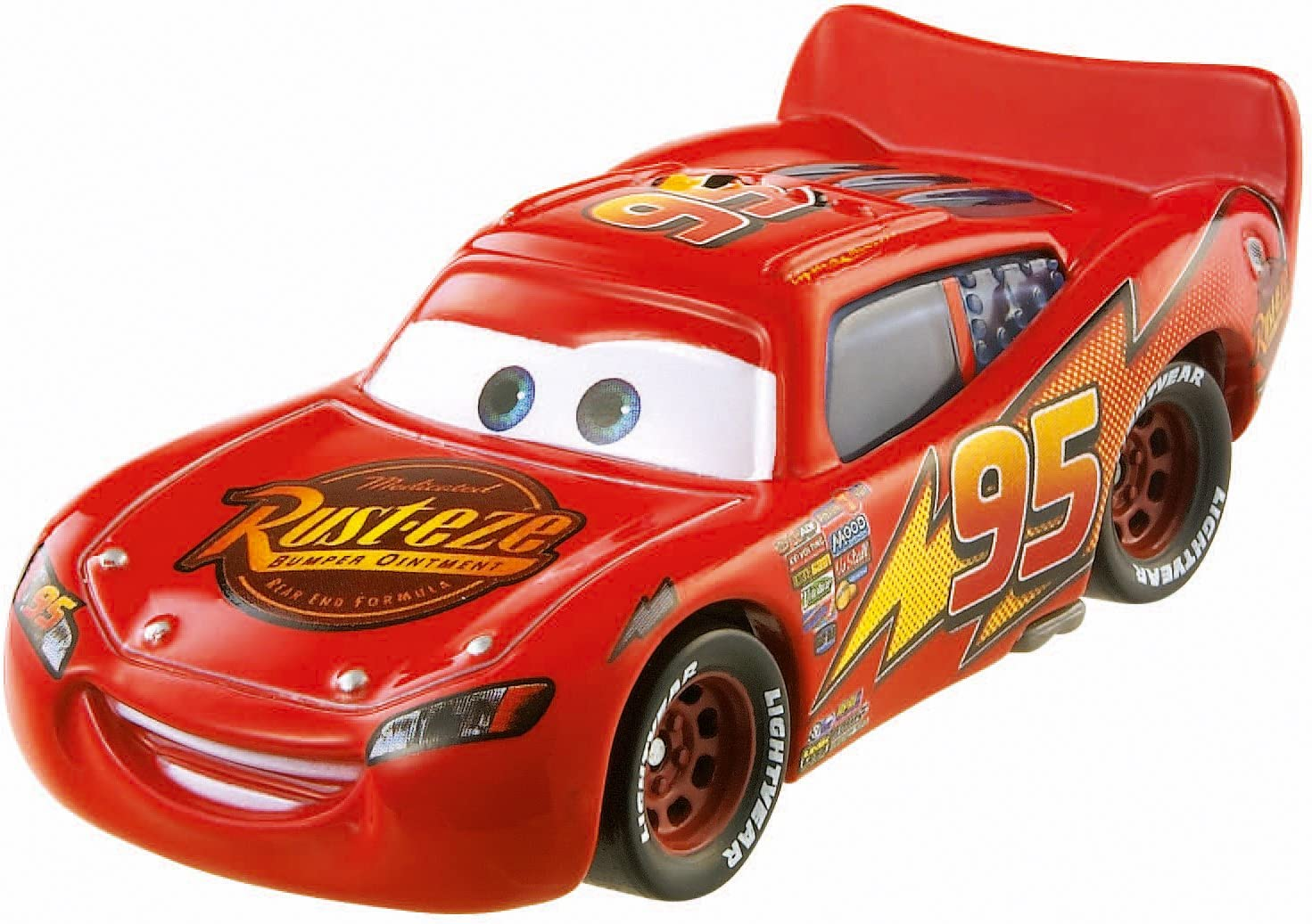 Amazon Com Disney Pixar Cars Original Lightning Mcqueen Diecast