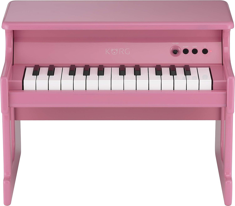 Korg TINYPIANO PK Piano digitale, giocattolo, colore rosa