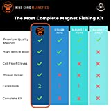 King Kong Magnetics Fishing Magnet Kit with Super