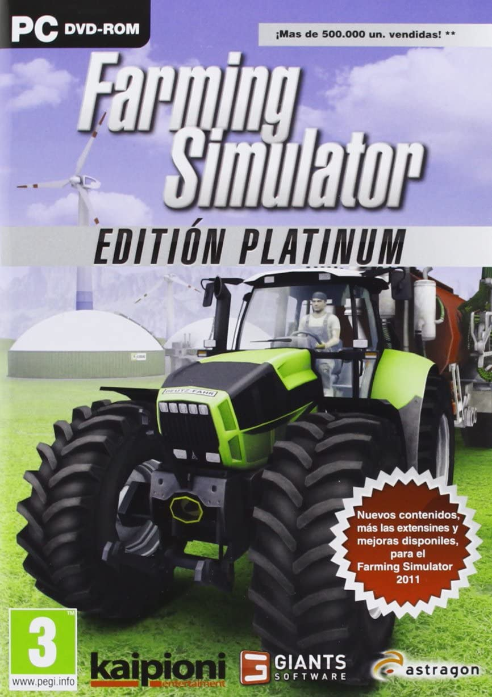 Farming Simulator Edición Platinium [Versión en Español]: Amazon ...
