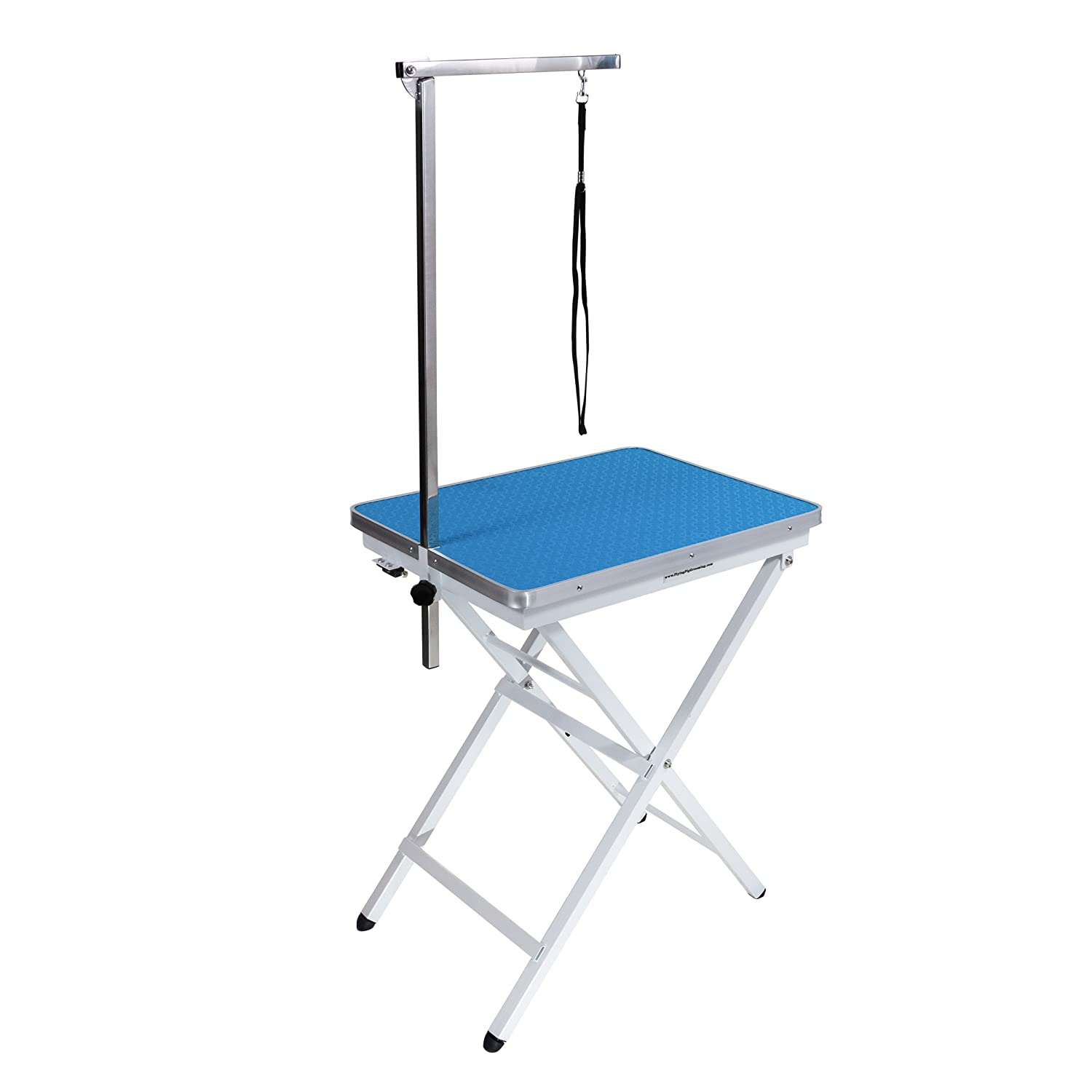 amazoncom mini size pet dog portable grooming table by flying pig grooming sky blue pet supplies