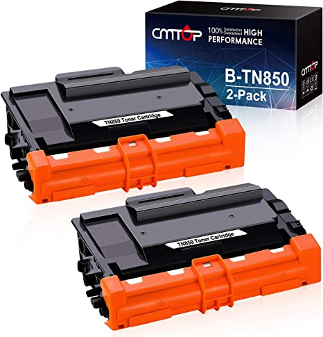 SROS Compatible Toner Cartridge Refill Replacement for Brother TN-850 TN-820 MFC-L6750DW MFC-L6800DW MFC-L6900DW Black, 1-Pack