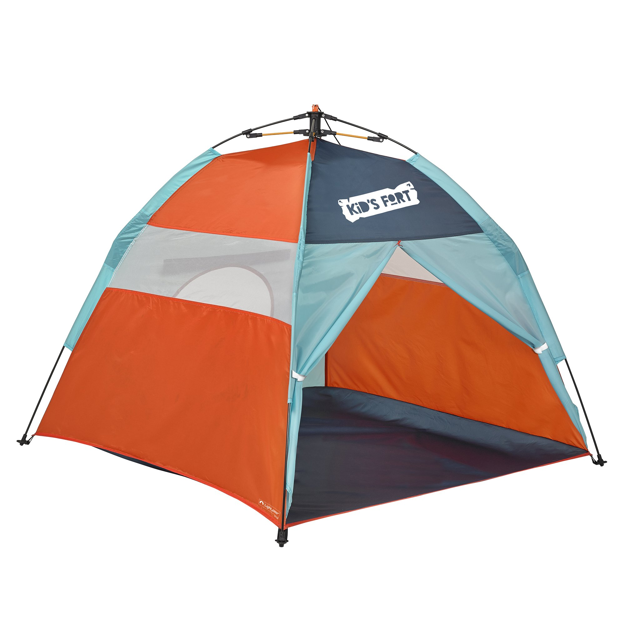 Lightspeed Outdoors Kids Fort Pop-Up Play Tent with Tunnel Entrance