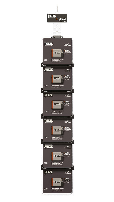 Petzl Erwachsene Cross Merchandising 6 CORE Kit Wiederaufladbare Batterien Für Stirnlampen, Mehrfarbig, One Größe