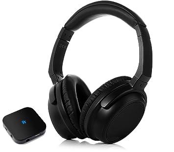 FeinTech FeinSound Set Auriculares Bluetooth con transmisor de Audio aptX Low Latency Over-Ear: Amazon.es: Electrónica