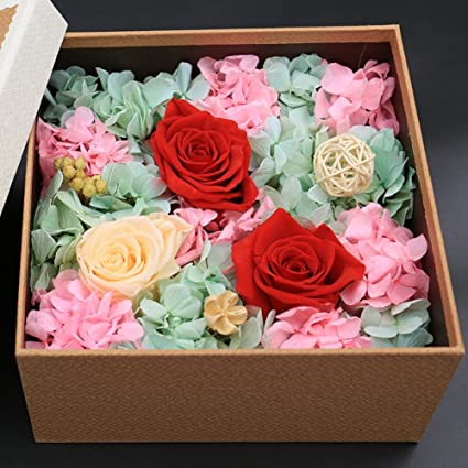 Amazon Imported Live Flower Gift Box Roses Fresh Flowers