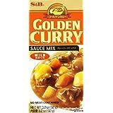 S&B, Golden Curry Sauce Mix, Mild, 3.2 oz