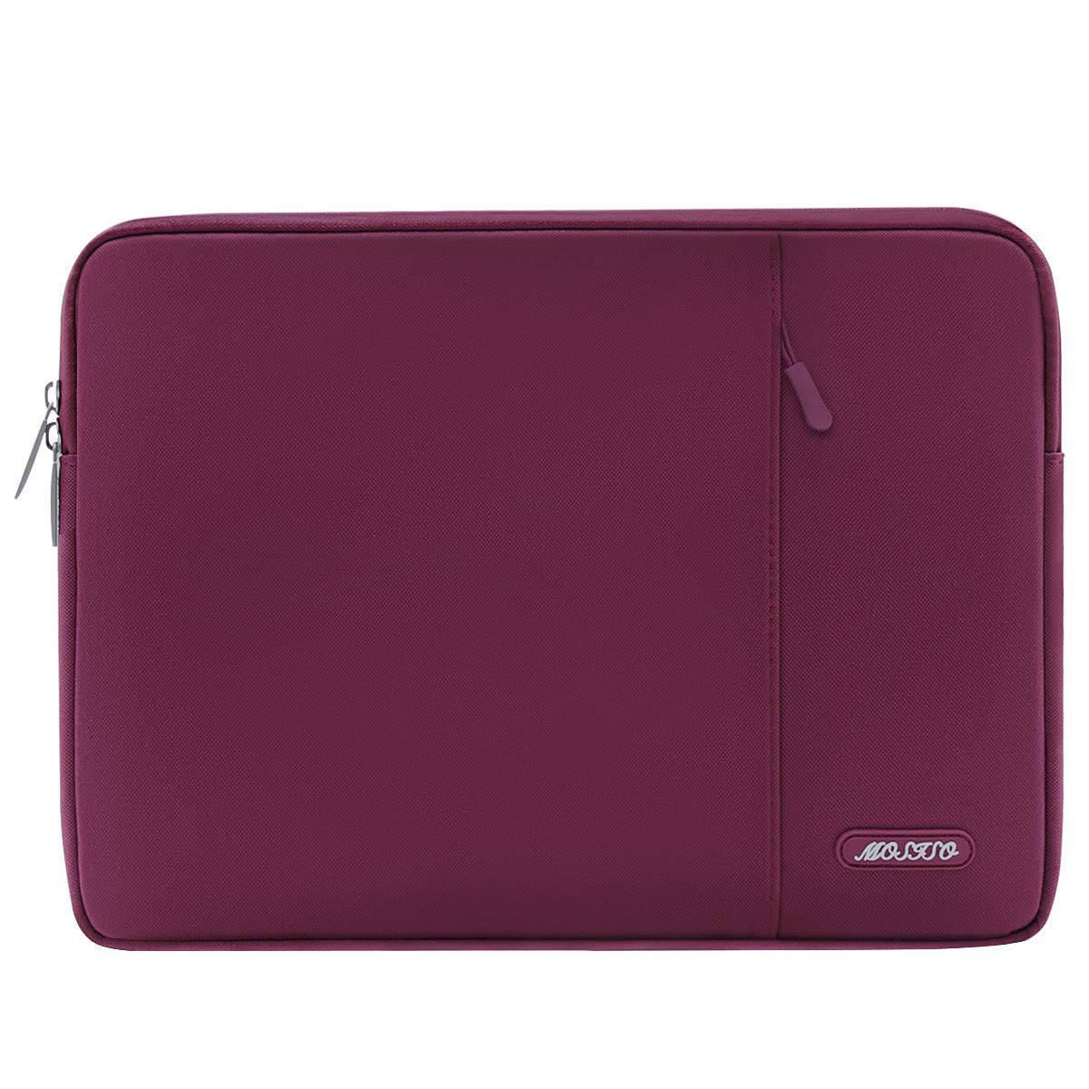 MOSISO Funda Protectora Compatible 11-11.6 Pulgadas MacBook Air Azul Marino Tableta de Ultrabook Netbook Poli/éster Bolsa Vertical Estilo Repelente de Agua Caja