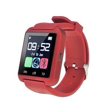Bluetooth reloj inteligente muñequera reloj teléfono reloj inteligente para ios teléfonos Android Samsung S2/S3