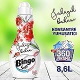 Bingo Soft Konsantre Çamaşır Yumuşatıcısı Şakayık Baharı 1440 ml Ekonomi Paketi 6'lı