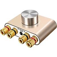 ELEGIANT Mini Bluetooth Amplificador HiFi Audio Estéreo Inalámbrico Potencia 50W * 2 de Señal Digital de Doble Canal de…