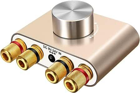ELEGIANT Mini Bluetooth Amplificador HiFi Audio Estéreo ...