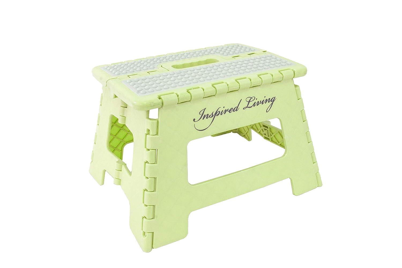 ROYAL ONYX Inspired Living Folding Step stool Heavy Duty 9 High