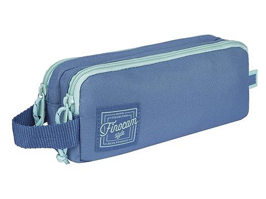 Finocam 5016215 Espir Estuches, 23 cm, Azul Cobalto