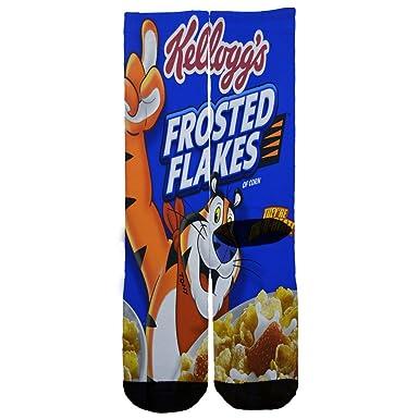 c56e17c5a0cd Amazon.com  Frosted Flakes Custom Socks One Size 6-12 Multi  Clothing