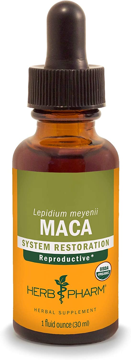 Herb Pharm Certified Organic Maca Liquid- 1 Ounce (090700003463)
