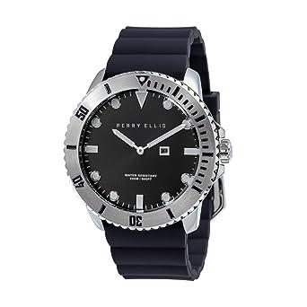 131ebc960838 Amazon | [ペリー・エリス]Perry Ellis 腕時計 DEEP DIVER(ディープ ...