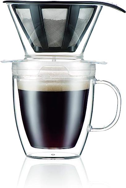Bodum - Cafetera con filtro permanente, Inastillable., 12 onzas, 1
