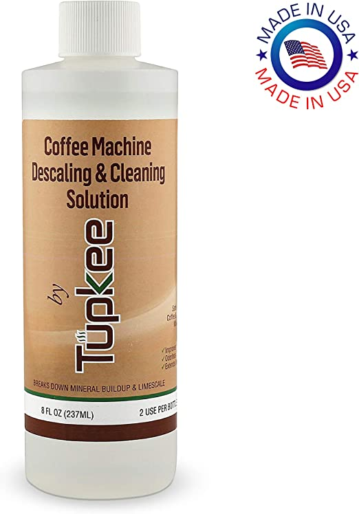 Tupkee Coffee Machine Descaling Solution – Universal, For Drip Coffee Maker, nespresso, delonghi, and Keurig Coffee Machines Descaler & Cleaning ...