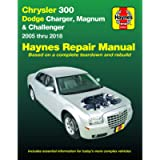 Chrysler 300 (05-18), Dodge Charger (06-18), Magnum (05-08) & Challenger (08-18) Haynes Repair Manual (Does not include…