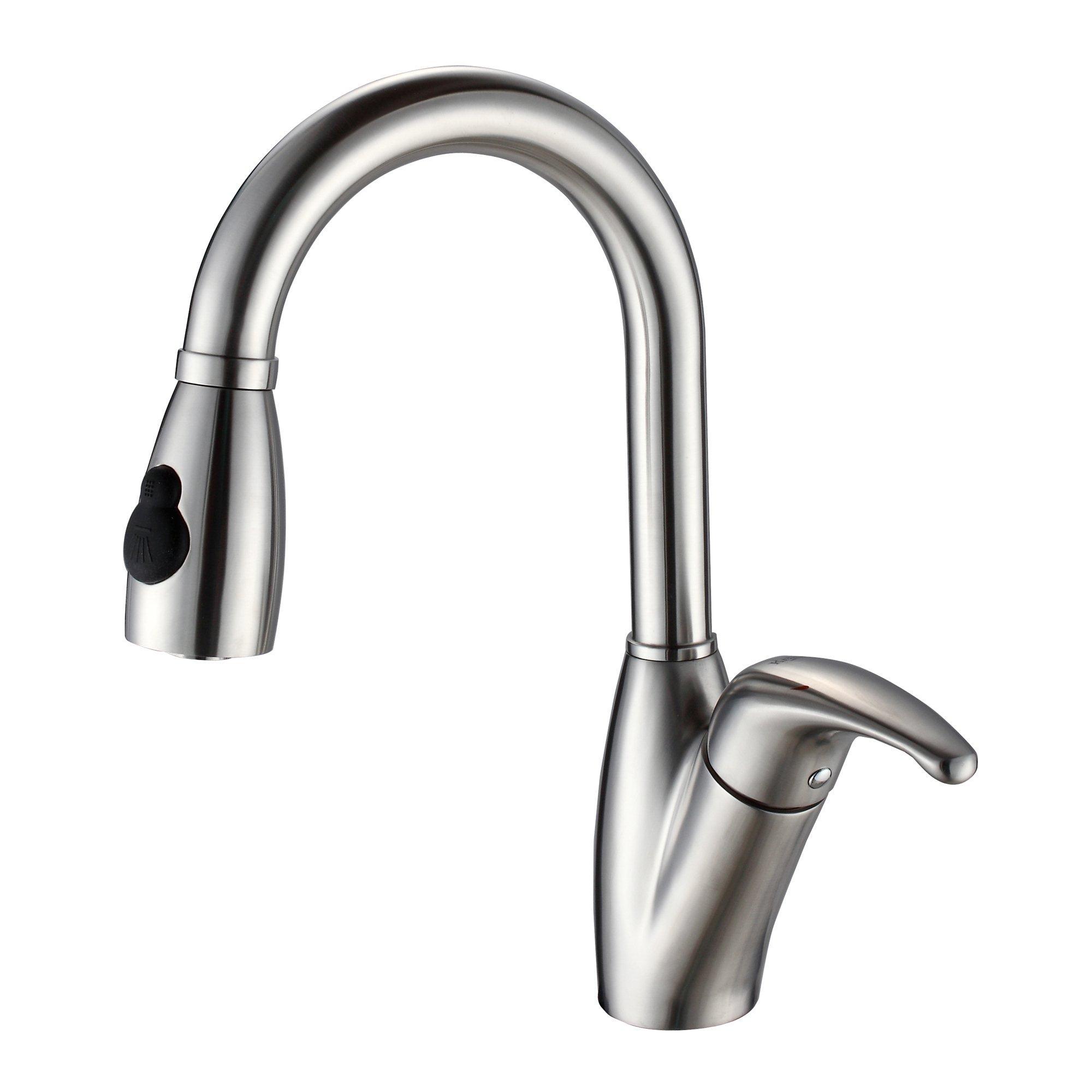 Kraus KEA-14445BN Aura Bathroom Accessories - Shelf with Railing Brushed Nickel by Kraus (Image #9)