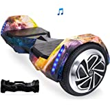 AlienBoard UL2272 Certified Hoverboard Batwings with Bluetooth, Samsung Cell Battery and LED Lights