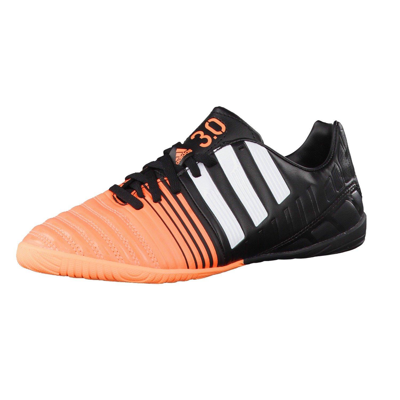 Adidas Fussballschuhe Nitrocharge 3.0 IN J 28 core schwarz ftwr Weiß flash orange s15