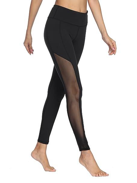 6e97eabadba65 dh Garment Mallas Mujer Fitness Leggings Deporte Leggins Opaco Pantalones  Gimnasio  Amazon.es  Ropa y accesorios